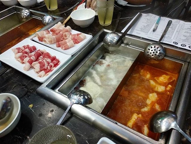 Trying a new hotpot for cny eve reunion each year.