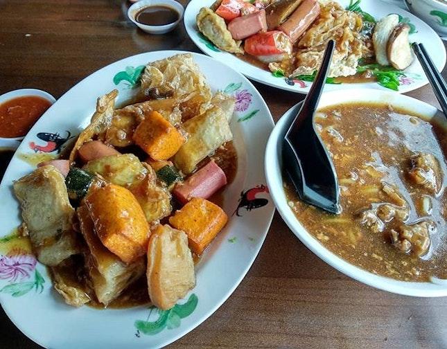 Cravings for Fu Lin Yong Tau Foo satisfied!
