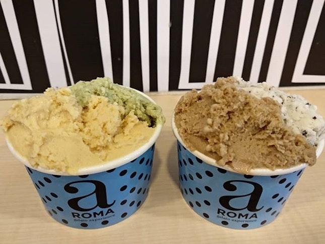 Aroma gelato for desserts!