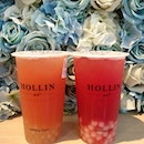 Have been wanting to try Hollin for a loooong time, because they had pearls in different flavour!