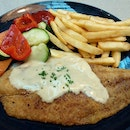 Pan grilled catch of the day ($16.90++) from secret recipe.