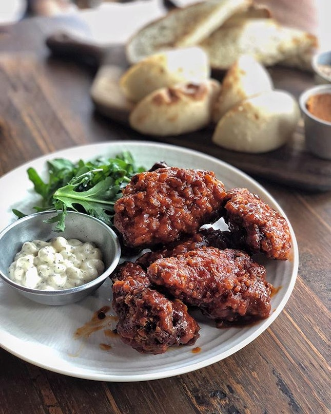 Honey Chipotle Wings —$12 Always an idea eating and watching the horses graze on the grass, neigh in the stable and do their daily exercises.