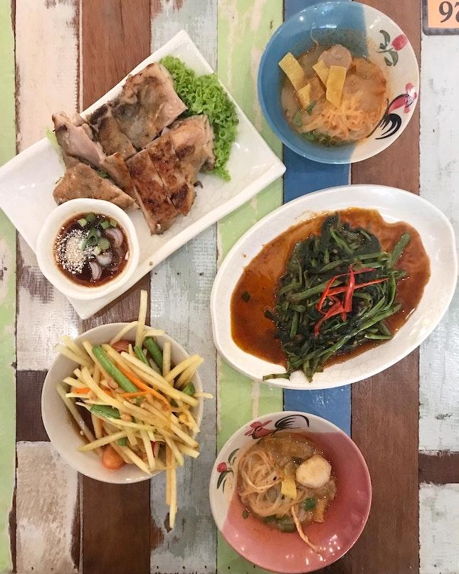 Thai Food / Mookata