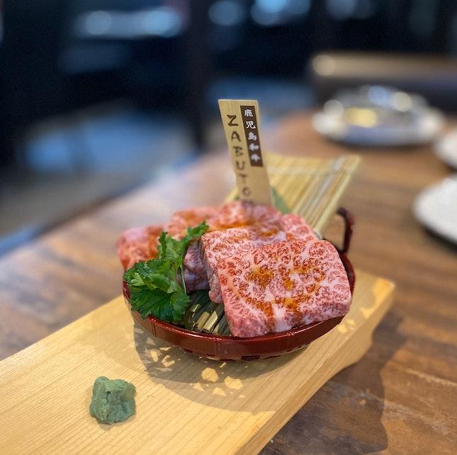 """Kagoshima Wagyu Premium Karubi """"ZABUTON"""""""