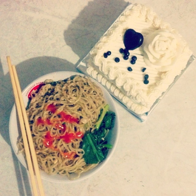 my birthday birthday cake latepost noodles w 48