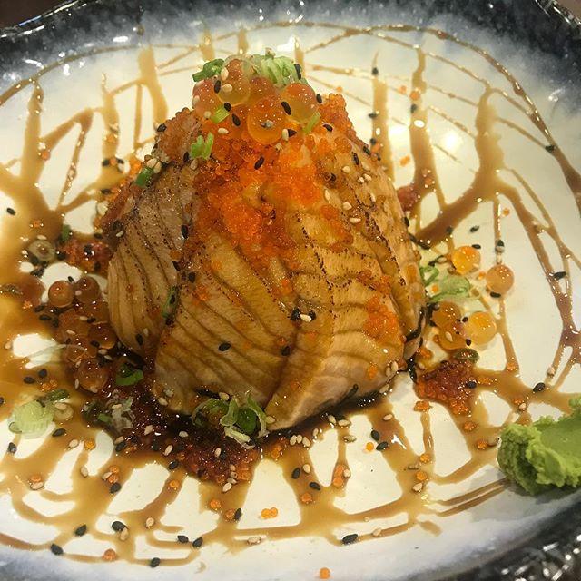 Salmon Aburi Don.
