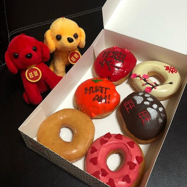 Donuts to mark CNY day one!