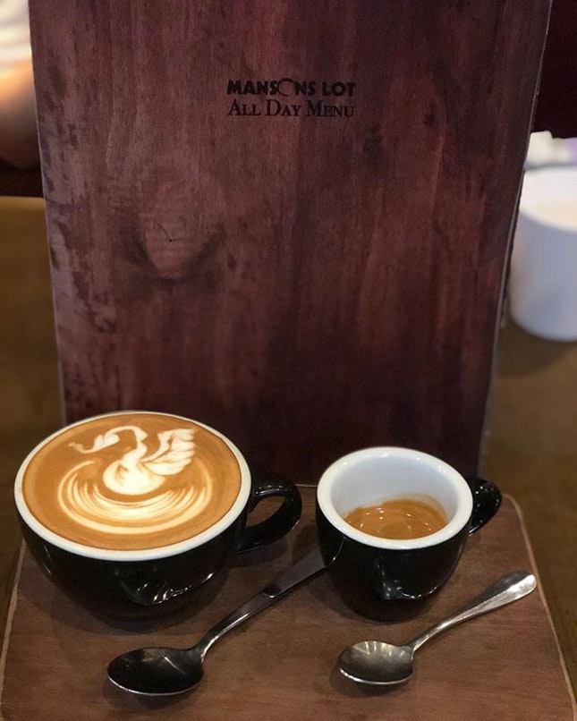 It's a coffee combo!