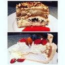 Dessert time - tiramisu & pavlova with @limmeted @yushanwong #burpple