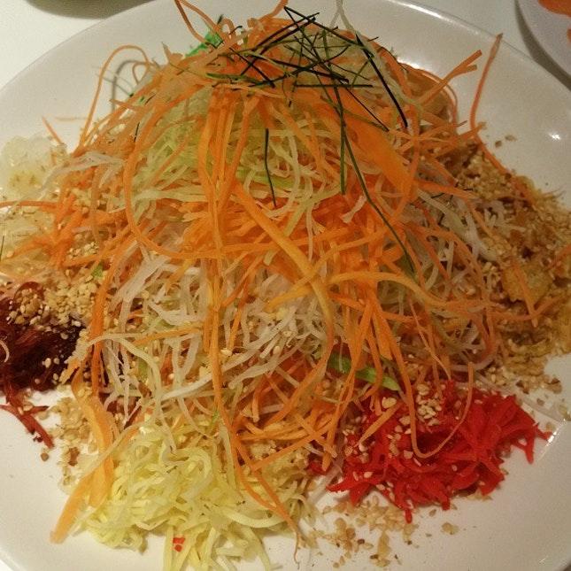 My 6th Lo Hei from Pu Tien at Resort World Sentosa #sgig #igsg #sgfood, #instasg #food #foodpics #foodporn #instafood #foodies #foodgasm #burpple #delicious #yummy #awesome #iglikes #tripadvisor #foodblogger #sgfoodie #sgfooddiary #openrice #hungrygowhere #igfood #sgfoodies #eatoutsg @eatdreamlove #eatdreamlove #setheats #lohei2015 #chinesenewyear #cny2015  http://www.eatdreamlove.com
