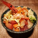 Jumbo Bara Chirashi S$25.80 (Lunch Special for Tues and Thurs).
