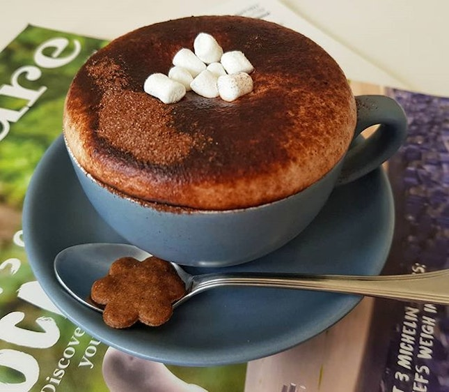 Miss a nice cup of hot chocolate on a rainy day like this!