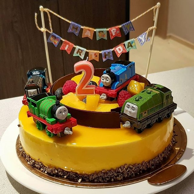 It's Little Travis @myprincetravis Birthday Cake!