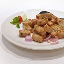 Stir Fried Yam from @putien_sg.