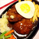 Hamburger Steak - Boncafe.