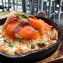 Smoked salmon rosti - no surprises here, just good rosti and savoury salmon :) #poomsandpoms #foodies #sgfood #sgfoodies #sgeats #sgfoodporn #singaporefood #sgfoodtrend #eatmoresg #foodinsing #yummyinmytummy #fatdieme #sgcafe #sgcafefood #sgcafehopping #sgbrunch #stfoodtrending #8dayseat #burpple #smokedsalmonrosti #rosti #oriolecafeandbar #313somerset #orchardroadsg