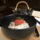 Mentai ochazuke - light and clean post-spa meal 😊 #poomsandpoms #foodies #sgfood #sgfoodies #sgeats #sgfoodporn #singaporefood #sgfoodtrend #eatmoresg #eatoutsg #foodinsing #yummyinmytummy #fatdieme #stfoodtrending #8dayseat #burpple #mentaiochazuke #yunomorionsen #kallangwavemall