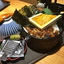 Their excellent unagi don with the added bonus of uni!