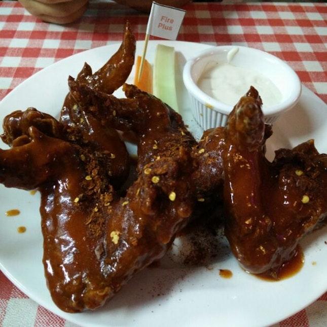 Fire Plus Fried Chicken Wings