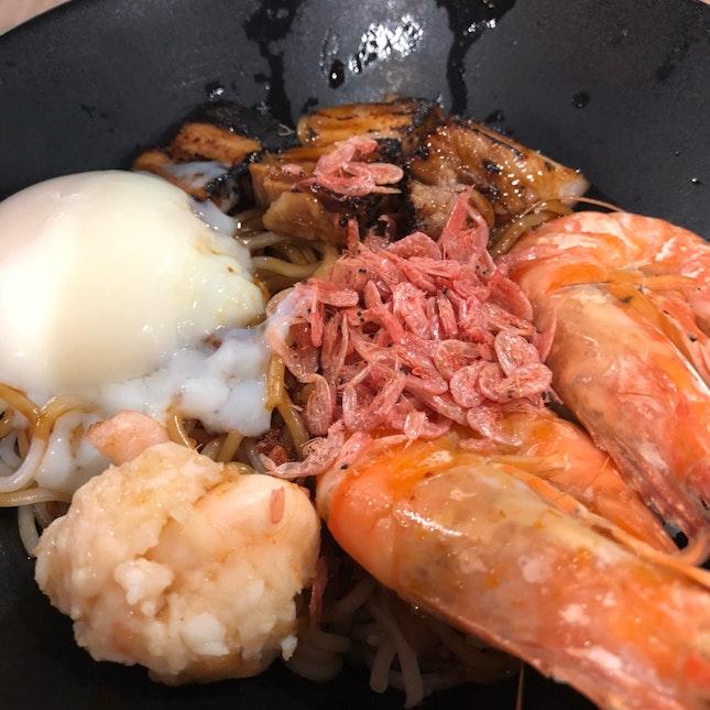 Fusion Prawn Noodles