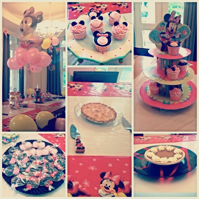Mickey/minnie Mouse Theme Birthday Party