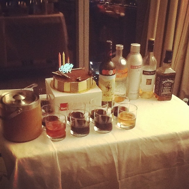 Birthday Alcohol Drinks Cake Tiramisu Moscato Whiskey Wine