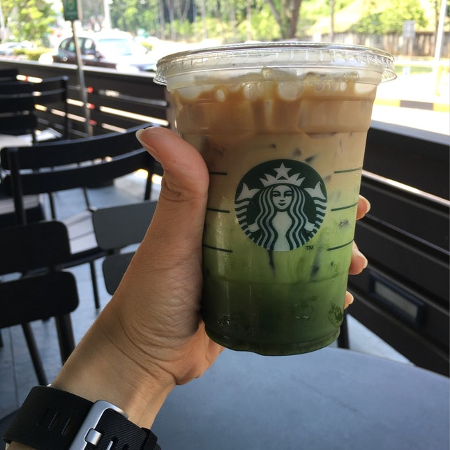 Matcha Espresso Latte