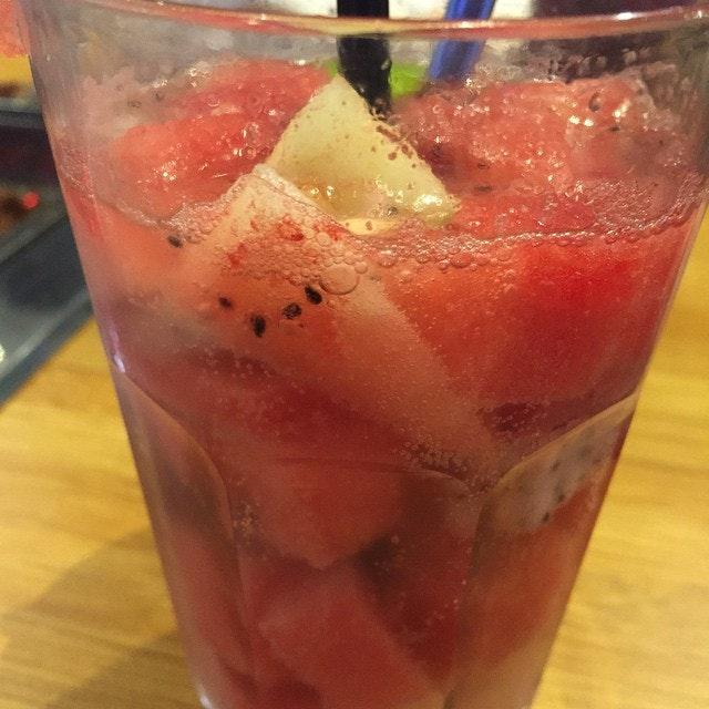 Fruits in sprite #sgeats #followme #foodblogger #singaporefood #delicious #yummy #foodgasm #foodstamping #sgfood #foodoftheday #foodporn #burpple #foodspotting #fatdieme #foodgasm #instafood #openricesg #justeat #foodphotography #8dayseatout #instasg #umakemehungry #lifeisdeliciousinsg #foodblogs #nomnomnom #sgfoodunion #nofilter #likemeonfb #likemeonfacebook