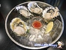 Enjoying Happy Hours with Oysters at $2 each!