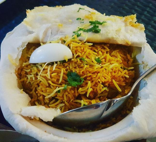 Chicken Briyani Dum