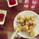 #taiwan #food #foodporn #yummy #nomnom #fried #tofu #best #love #happy #smiles