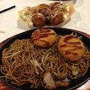 Potato Croquette Yakisoba
