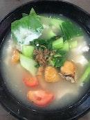 Singapore's Famous Slice Fish Soup