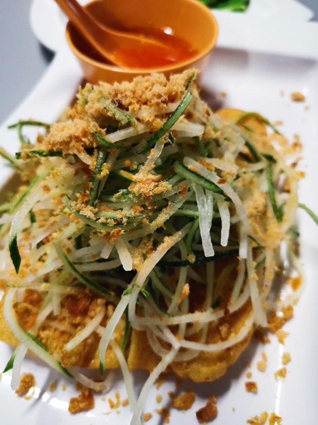 Thai Style Fried Dou Fu ($14+)