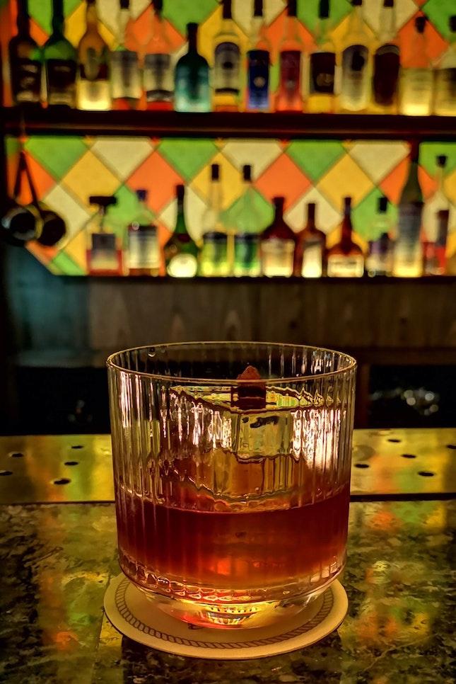 Cascara Old Fashioned ($23++)