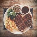 """""""The King of Steak"""" @tokyoskipjack #bali #seminyak #steak #beef #meat #foodreview #food I would rate it 8.5/10."""