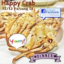 We had a crabby affair today at #HappyCrab located at Pahang Street.