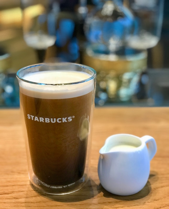 nitro cold brew with sweet cream (Tall-$6.70)