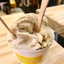 pistachio & hazelnut gelato ($9)