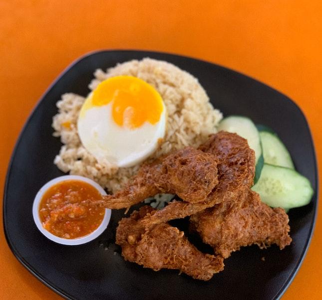 Har Cheong Gai, Shrimp Paste Fried Chicken Wing