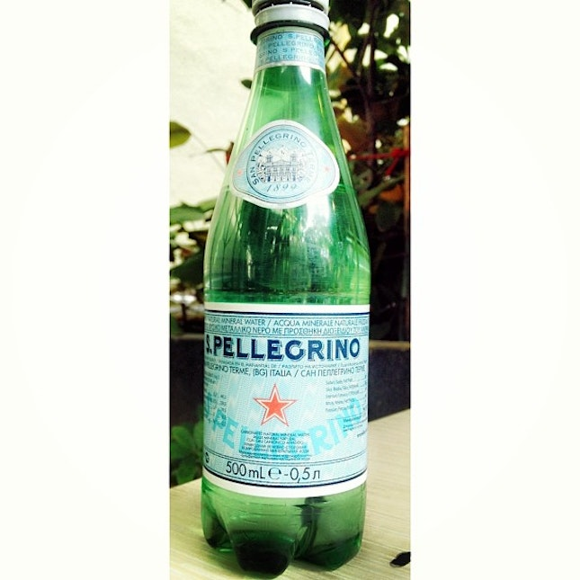 Mine virgin try for #sparkling #water.