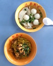 Old School Fishball Noodles ($3)