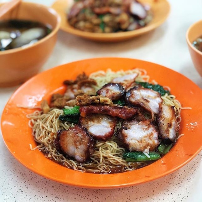 My all time favourite wanton mee, simply the best!