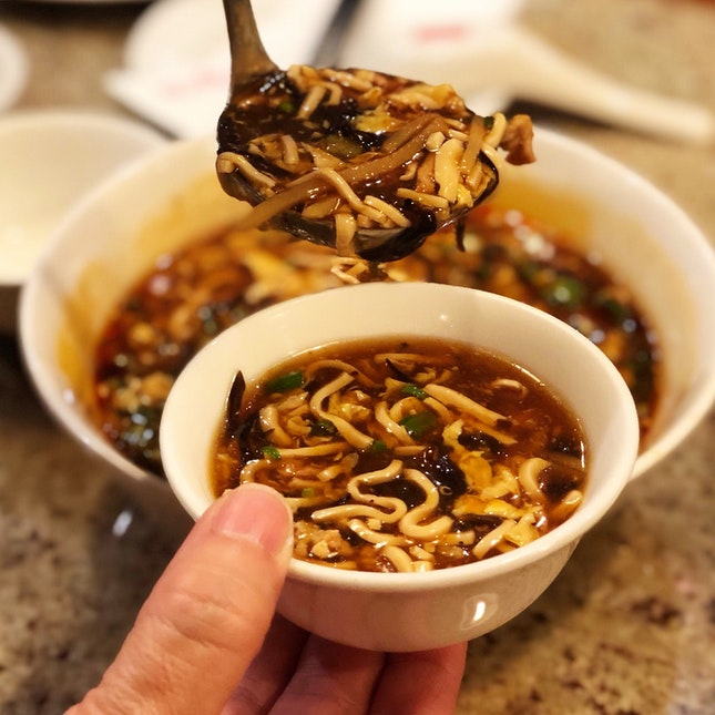 酸辣汤 (Hot & Sour Soup)