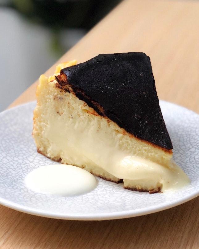 Burnt Cheesecake ($9)