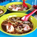 Prawn Mee with Pig's Tail ($6)