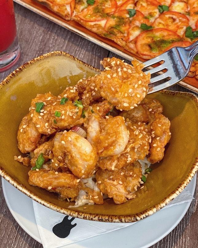 One Night in Bangkok Spicy Shrimp ($18.95)