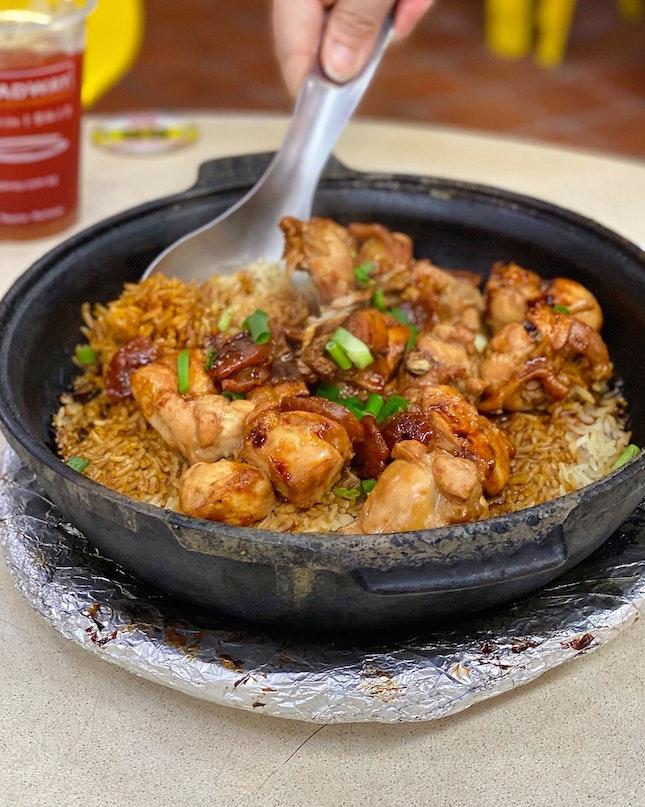 Claypot Chicken Rice ($15 For 2 Pax)