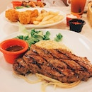 Sirloin steak we met again // and after a really long time I get to eat Hot Tomato 'n Grill again!