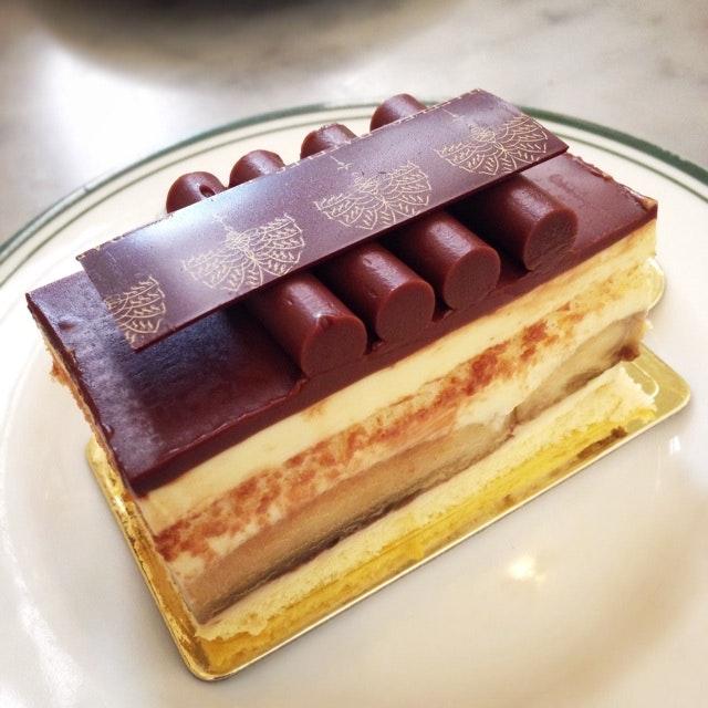 Banana Chocolate Cake ($6)